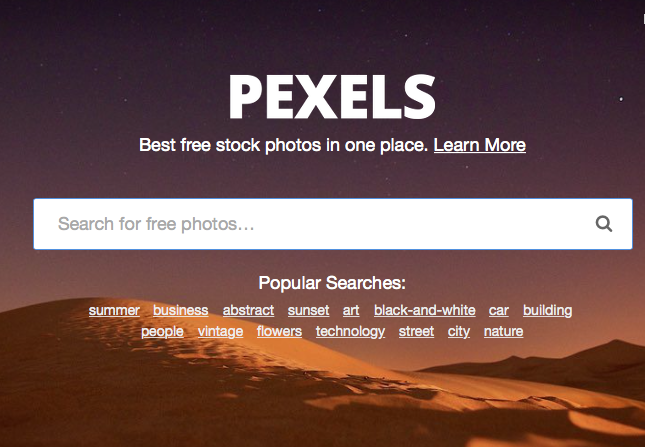 Pexels - เรียน Graphic Design