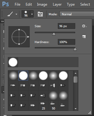 โหลด brush photoshop