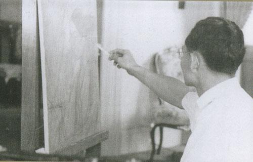 อัครศิลปิน,ในหลวง,ในหลวง ศิลปะ,ในหลวง จิตรกรรม,ในหลวง ประติมากรรม,ในหลวง มัณฑนศิลป์,รัชกาลที่ 9
